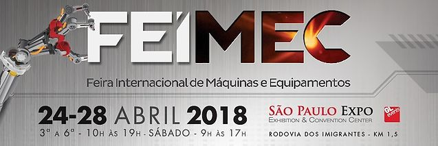 Travis CNC present at FEIMEC 2018 in Brazil